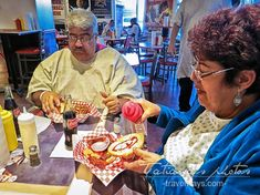 Eating at the Hear Attack Grill Las Vegas