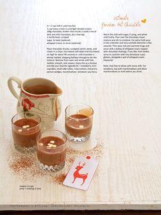 Ultimate Parisan Hot chocolate – velvety and so utterly chocolaty