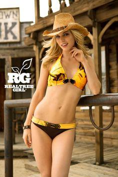 Realtree Girl®  Yellow Camo Swimsuits