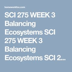 sci 275 week 1 checkpoint local environmental issue Sci 275 checkpoint atmospheric issues  sci 275 week 1 individual assignment community environmental issues  uop sci 275 week 1 individual assignment community environmental issues  atmospheric issues check point appendix d  sci 275 week 6  checkpoint local environmental issue  sci 275 complete course ©2018 brainiacom site stats.