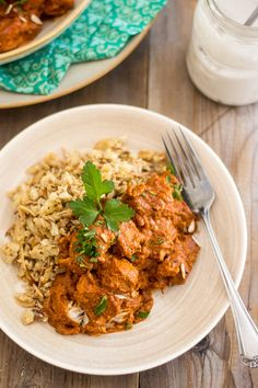 West African Chicken Stew   www.thehealthyfoodie.com