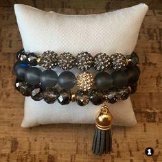 Gemstone Beaded Bracelet Sets