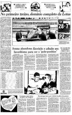 06 de Abril de 1985, Matutina, Esportes, página 22