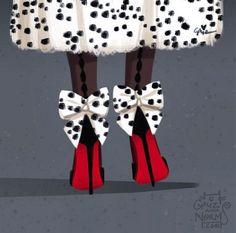 A sus pies, alteza.. Las princesas Disney calzan (más que) Manolos