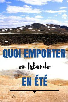 Quoi mettre dans vos bagages pour l'Islande en été? Bonne question! Je vous ai fait une liste pour vous faire penser à tout!