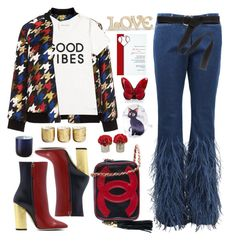 """""""11.10.17-2"""" by malenafashion27 ❤ liked on Polyvore featuring Manon Baptiste, Tommy Hilfiger, Michael Kors, Chanel, Lenox, Illume, Jonathan Adler, Hot Topic, The French Bee and Baccarat"""