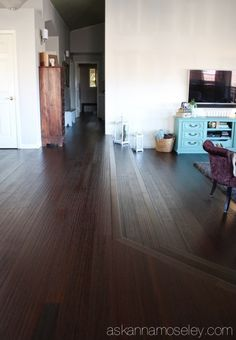 New Floors Reveal with Lumber Liquidators Bamboo Flooring - Ask Anna