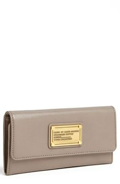 MARC BY MARC JACOBS 'Classic Q - Long' Trifold Wallet | Nordstrom