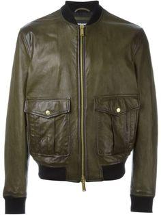 DSQUARED2 Classic Bomber Jacket. #dsquared2 #cloth #jacket