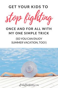 Sometimes it's all love with your kids, other times it's. If you've had enough, read my one simple trick to end sibling fighting! Enjoy Summer, Summer Kids, Sibling Quotes, Sibling Fighting, Are You Happy, Happy Kids, Stop Fighting, Sometimes I Wonder, Welcome To The Family