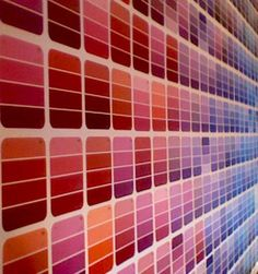 31 things to do with paint chips!