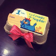 Invitación / canasta para cumpleaños de niños infantiles Gallina Pintadita (Galinha Pintadinha)