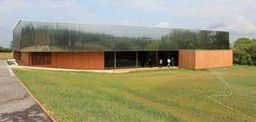 Salle d'animation municipale – Orliénas – chantier (69) – Playtime/AA