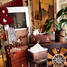 It's all about vintage at Whimsy, of course!