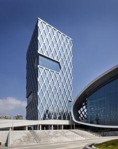 Hotel Kapok Shenzhen Bay by Goettsch Partners