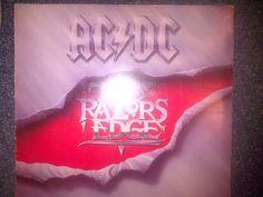 AC/DC, The Razors Edge,South Africa Press,ATC9898,#acdc #angusyoung, #bonscott #HardRock