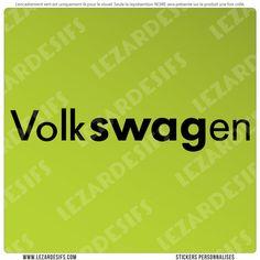 Sticker volkSWAGen (SWAG)