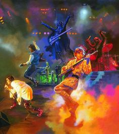 Star Wars - Rock Band<<<was wondering when I'd stumble across this pic again XD