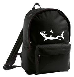 shark backpack  by ClaudioCrissi on Etsy https://www.etsy.com/listing/220499234/shark-backpack