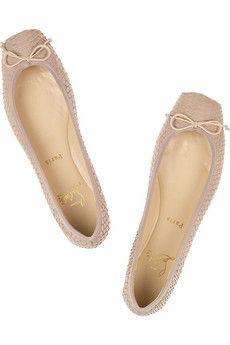86d12f845378 ... denmark rosella watersnake ballerina flats christian louboutin flats  christian louboutin red sole shoes masterpiece 8ba12 38cc0