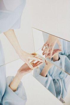 mirrored details.