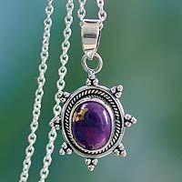 Purple Sun from @NOVICA, They help #artisans succeed worldwide.