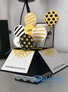Breti68 - Creative with paper: Stampin'Up - Balloonparty for a birthday