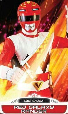 Red Galaxy Power Ranger