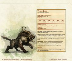 Day 37: Troll Boar