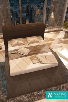 Welp 29 Best NATIVO™ design bedden images in 2020   Bed design, Bedroom LF-86