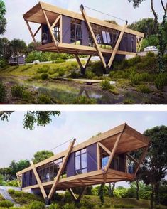 Small Modular House Plans Shipping Container Homes – Shipping Container US Building A Container Home, Container Buildings, Container Architecture, Container House Plans, Sustainable Architecture, Architecture Design, Tiny House Cabin, Tiny House Design, Modern House Design