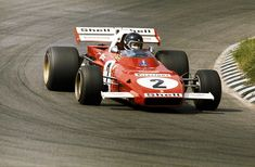 Jacky Ickx (BEL) Ferrari had the measure of Zandvoort, taking pole position, winning the race and setting fastest race lap. Ferrari Scuderia, Ferrari F1, Real Racing, F1 Racing, Can Am, Sport Cars, Race Cars, Porsche, Matra