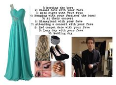 """""""Day 8 - Red Carpet with my fav"""" by bubble-loves-you ❤ liked on Polyvore"""