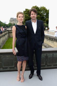 Natalia Vodianova - PFW: Front Row at Christian Dior
