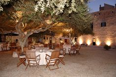 Countryside restaurant in Menorca
