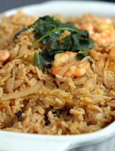Glorious aromatic prawn and rice for when youre feeling couch bound