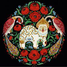 Klaus Haapaniemi   Festive Feast print pattern
