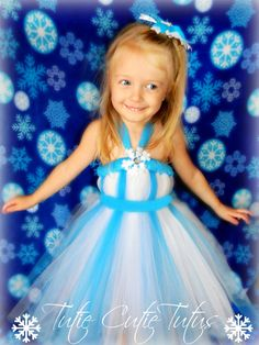 Disney's Frozen Elsa  Tutu Dress by TutieCutieTutus on Etsy, $60.00