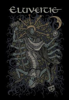 Costin Chioreanu Eluveite Tshirt design