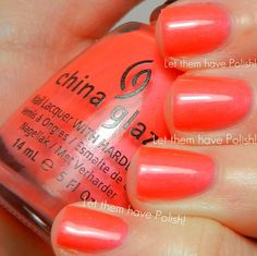Flirty Tankini ~ 2012 Summer Neons Collection (http://www.letthemhavepolish.com/2012/06/china-glaze-summer-neons-2012-swactches.html)