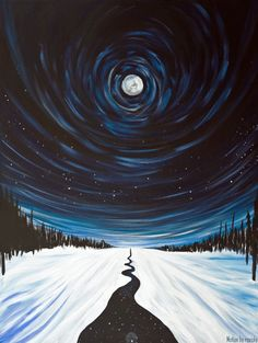 "rexisky: "" Wander (30 x 40"", Acrylic on Canvas) by Kathryn Beals 