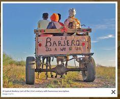 Donkey carts: The 4x4s of rural Namibia. Courtesy Gondwana Trade Group (Namibia Deutschland).
