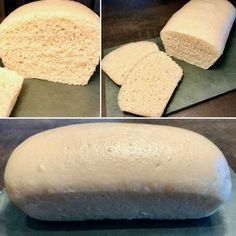 Le Pain de Mie sans croûte (et sans four !) - Patachou, miam-miam et compagnie - Nab Abdel - Cooking Bread, Cooking Chef, Easy Desserts, Delicious Desserts, Eating Gif, Organic Cooking, Easy Bread, Football Food, Food Hacks