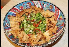 Farfuridi, mâncare cu suflet!   –  Salata fattoush – Ocolul Pamantului in 50 de retete (24)