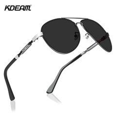 KDEAM Polarized Sunglasses Men/Women Pilot