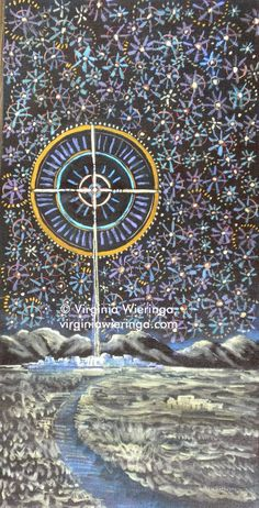 ADVENT STARRY NIGHT 5, Virginia Wieringa, Acrylic 2011     MORNING STARS TOGETHER, Virginia Wieringa, Acrylic 2014      MAGNIFICAT, Virgin...