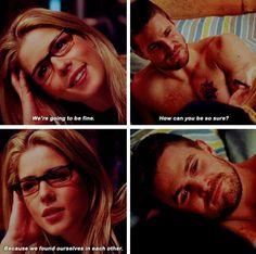 Arrow - Felicity & Oliver #4.6 #Season4 #Olicity <3