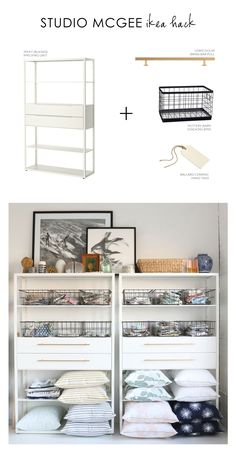 Studio McGee's easiest Ikea Hack ever.