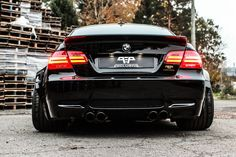 #BMW #E92 #M3 #Coupe #Black #Pearl #Provocative #Hot #Sexy #Wide #Body #Badass #Wheels