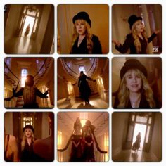 """Stevie starting off the finale of AHS Season 3~~Coven """" THE SEVEN WONDERS"""" One of the best opening of a Season Finale I've seen, ever. Loved it."""